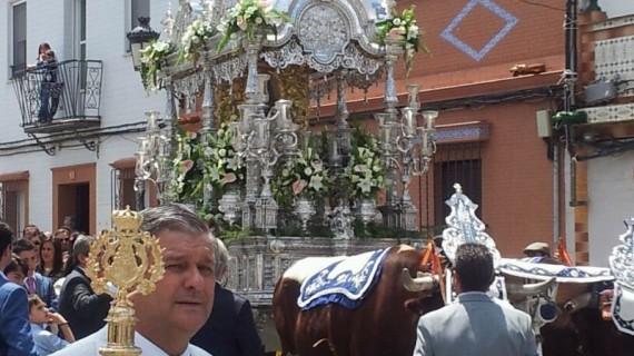 La Hermandad del Rocío de La Palma vive con intensidad su 418º año de peregrinación