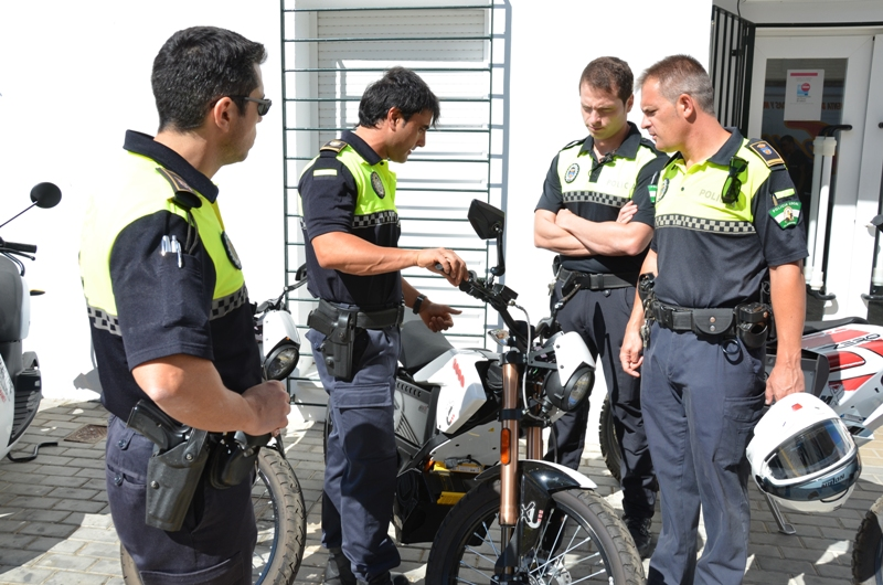 En el curso han participado policías de Bonares, Lepe y Aljaraque.