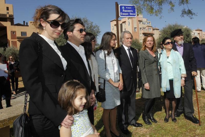 Inaugurado el Parque 'Periodista Enrique Seijas' en Granada