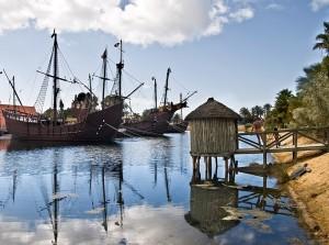 Los Lugares Colombinos conmemoran el día de la Hispanidad con multitud de actividades.