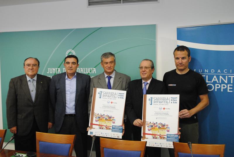 Juan Manuel Díaz Cabrera, Vicente Zarza, Jesús Contreras, Juan José Blanco y Emilio Martín.