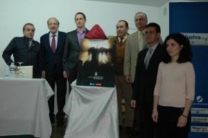 Presentación del cartel de la Hermandad del Rocío de Huelva.