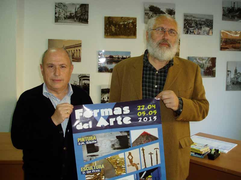 Los comisarios de la muestra presentaron la iniciativa en la redacción de Huelva Buenas Noticias.