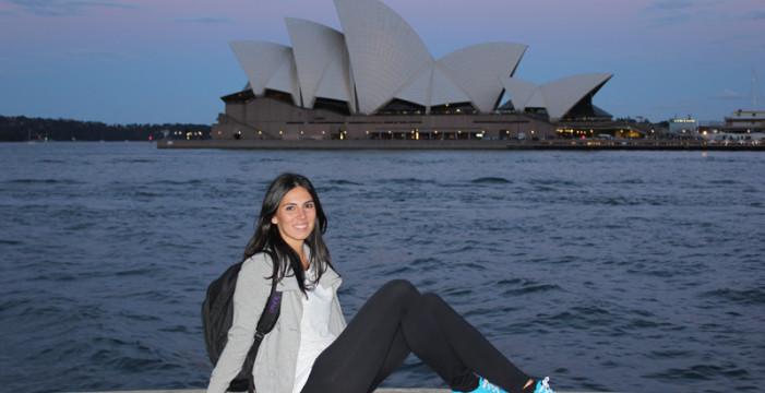 Cristina Echevarría, una onubense licenciada en Empresariales que ha trasladado su residencia a Australia