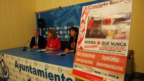 El Orfeón y la Escolanía de Huelva y la Orquesta Sinfónica del Conservatorio ofrecen un concierto a beneficio de Cruz Roja