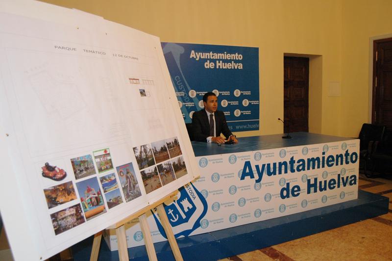Felipe Arias presentó la ampliación de las actividades infantiles del parque.