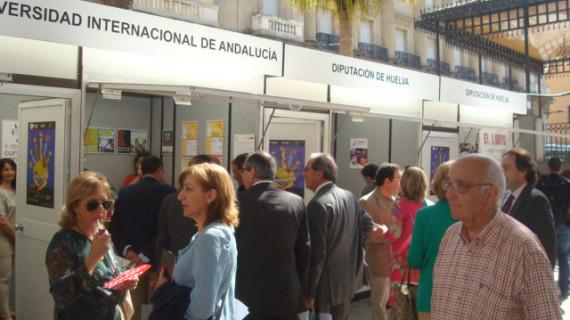 Inaugurada la XXXIX edición de la Feria del Libro de Huelva
