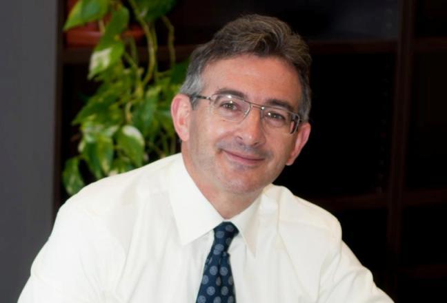 Francisco Ruiz, rector electo de la Universidad de Huelva.