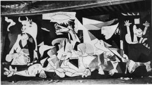 El Guernica de Picasso es uno de los símbolos de este ciclo.