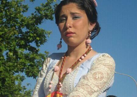 Rocío Méndez, hermana mayor de Emigrantes con tan sólo 16 años