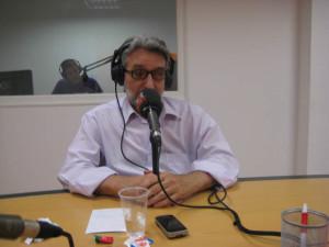 Homenaje al periodista onubense Enrique seijas.