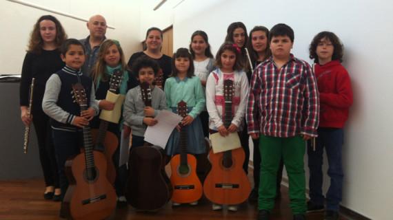 Alumnos del Conservatorio 'Vicente Sanchís' protagonizan un concierto en el teatro de Isla Cristina