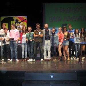 Jóvenes premiados en ediciones anteriores.