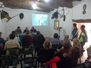 Jornadas cinegéticas en Linares de la Sierra.