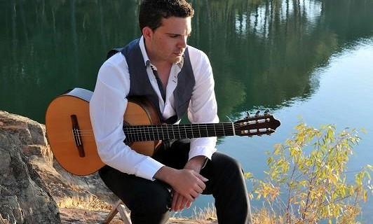 Marcelo Palanco ofrece un concierto de guitarra en la Sede de La Rábida