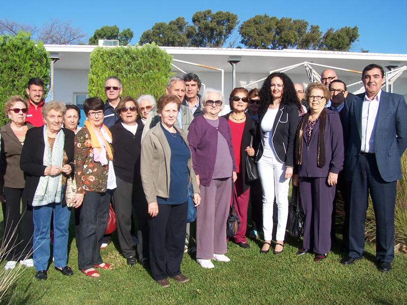Los mayores estuvieron presentes en la presentación de los cursos y actividades de promoción del ejercicio físico.