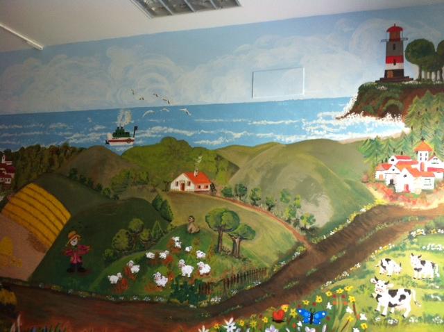 Imagen del mural.
