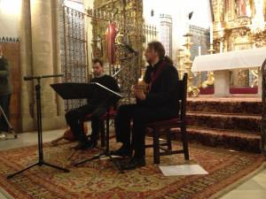 Concierto de música antigua organizado por la Universidad de Huelva.