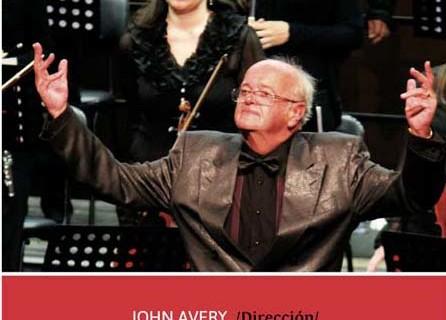 El prestigioso director de orquesta inglés John Avery dirigirá la Orquestra do Algarve en el Teatro Cardenio de Ayamonte