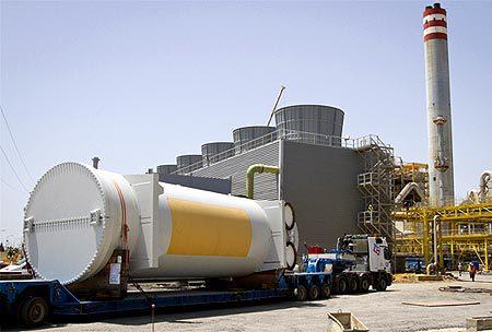 Planta de biomasa de Ence, situada en Huelva.