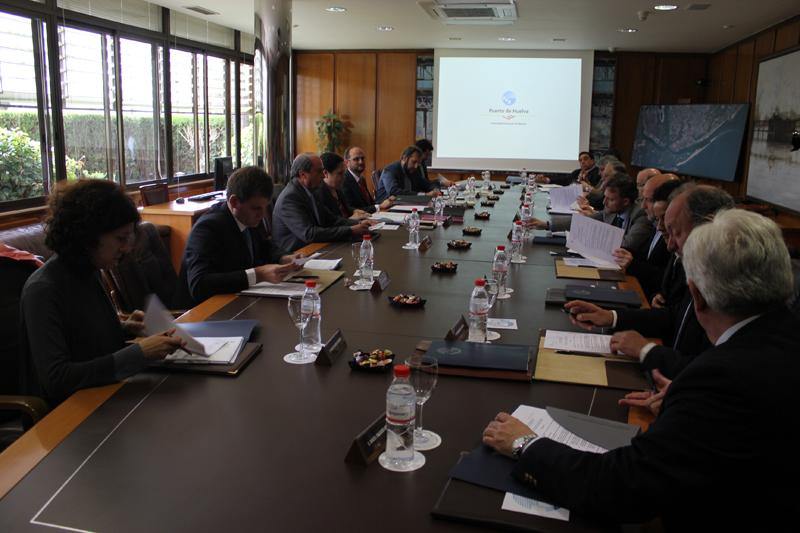 Último consejo de administración del Puerto de Huelva.