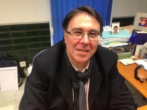 El conferenciante, Manuel Jesús Feria Ponce.