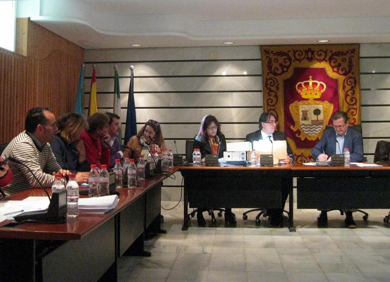 Pleno del Ayuntamiento de Punta Umbría.