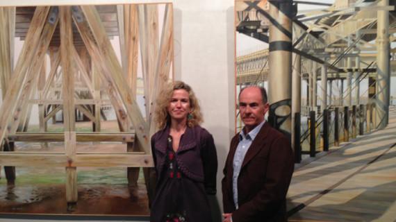Huelva es la protagonista de una exposición de Pedro Quesada en la Fundación Caja Rural del Sur