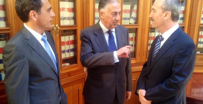 Eduardo Sánchez y José Carlos Calero toman posesión de sus cargos como director provincial del SPEE y jefe de Industria y Energía