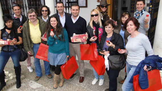 Touroperadores recorren Moguer para conocer sus recursos turísticos