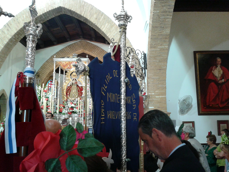 Romería de Montemayor en Moguer