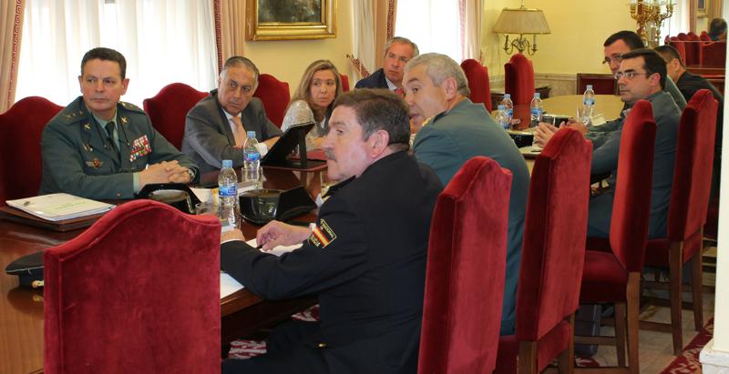 La reunión ha tenido lugar en la Subdelegación del Gobierno en Huelva.