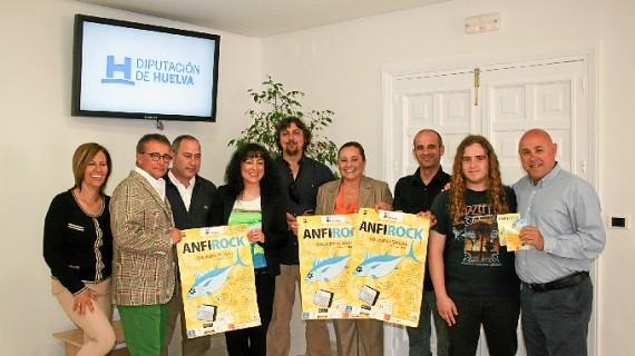Isla Cristina acoge el Festival 'AnfiRock' entre el 7 y el 9 de junio