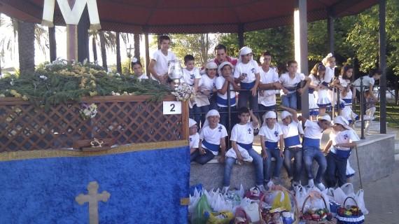 El viernes 11 de mayo tendrá lugar una procesión juvenil de la Santa Cruz en Cartaya