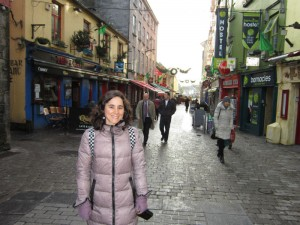 Lola Rodríguez, en Connemara, en la zona oeste de Irlanda.