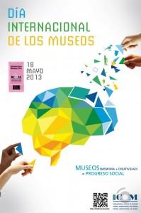 Cartel del Día Internacional de los Museos 2013.