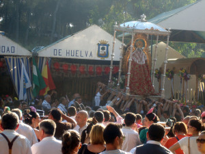 Cada año, visitan la Romería de Montemayor miles de personas.