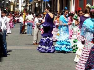 Unos 280 niños formaban el cortejo procesional.