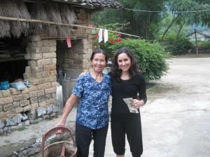 Lola Rodríguez, en Guilin (China).
