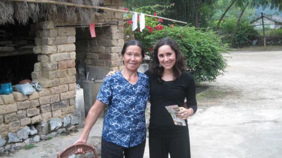 Lola Rodríguez, una onubense que trabaja en el Instituto Cervantes de Dublín tras vivir en Shanghai, Pekín, Nueva York y Bruselas