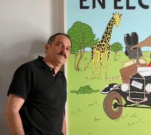 Manuel Luis Castro Magaz es un aficionado al cómic desde la adolescencia.