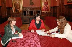 Un momento de la reunión celebrada en Ayamonte.