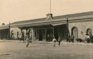 La salida de la comitiva se produjo a las cinco y media de la mañana desde la Estación de Huelva-Zafra
