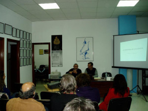 Una de las actividades celebradas dentro del ciclo 'Los Jueves de la Prensa'.