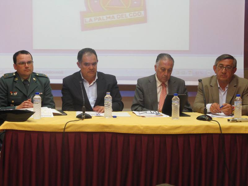 Reunión de la Junta Local de Seguridad de La Palma.