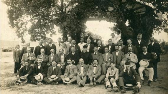 La inauguración de La Encarnación: una feliz jornada para la línea del ferrocarril Zafra a Huelva, en 1915