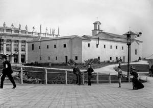Monasterio de La Rábida durante la World Columbian Exposition de 1893