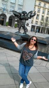 Lourdes García espera estar uno en tierras checas.