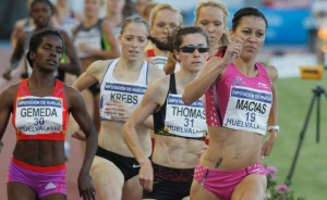Isabel Macías, actual subcampeona de Europa de 1.500 metros, una de las atracciones.