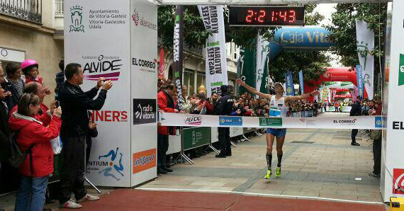 Brillante triunfo del atleta sanjuanero Miguel Beltrán en la Maratón de Vitoria